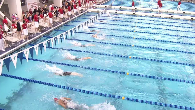 Women's 200 Medley Heat 10 - 2012 Short Course YMCA National Championships