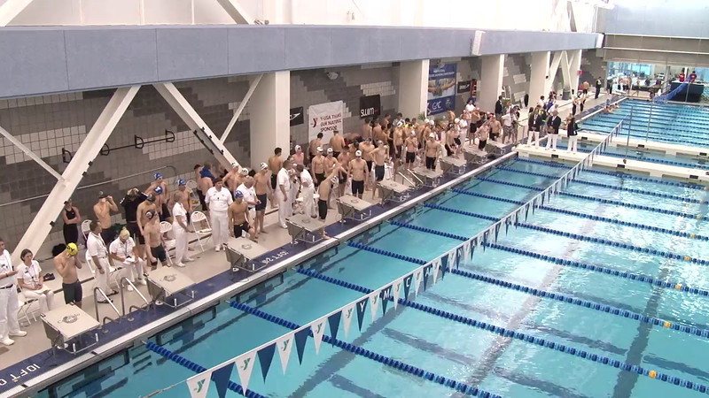 Men's 200 Freestyle Relay Final B - 2012 Short Course YMCA National Championships
