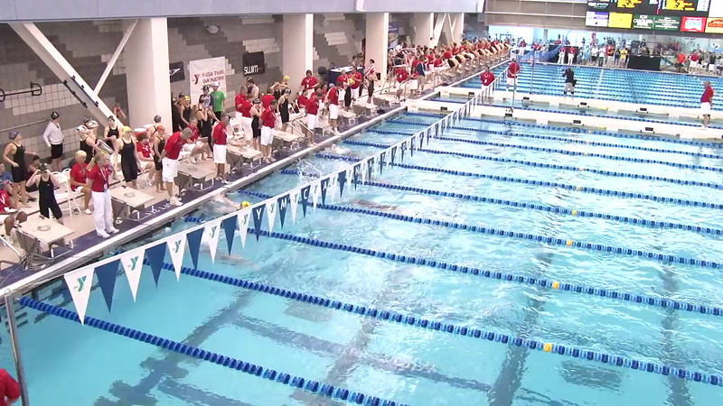 Women's 200 Medley Heat 01 - 2012 Short Course YMCA National Championships