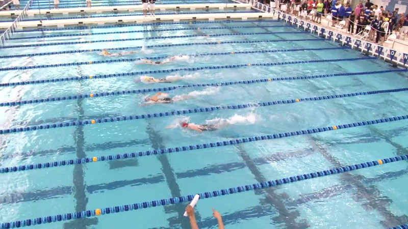 Women's 200 Freestyle Heat 01 - 2012 Short Course YMCA National Championships
