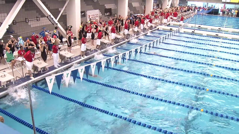 Women's 100 Backstroke Heat 09 - 2012 Short Course YMCA National Championships