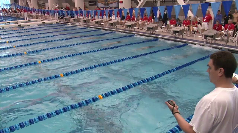 Men's 500 Freestyle Heat 09 - 2012 Short Course YMCA National Championships