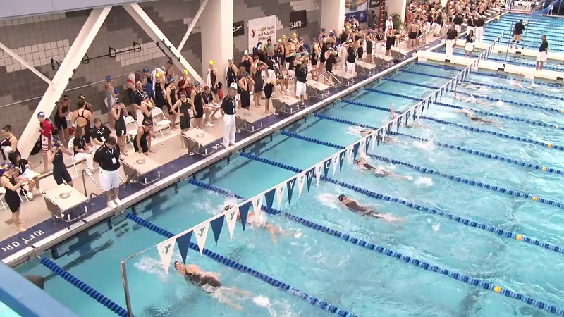 Women's 400 Medley Relay Heat 07 - 2012 Short Course YMCA National Championships