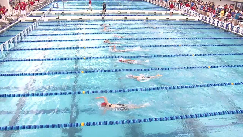 Women's 500 Freestyle Heat 01 - 2012 Short Course YMCA National Championships