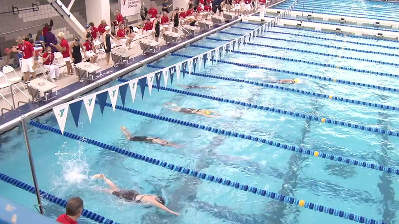 Women's 500 Freestyle Heat 05 - 2012 Short Course YMCA National Championships