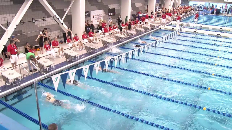 Women's 500 Freestyle Heat 10 - 2012 Short Course YMCA National Championships