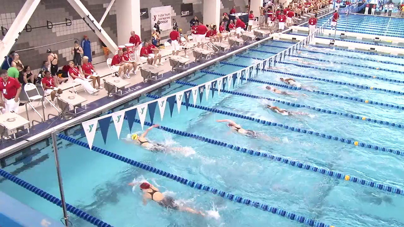 Women's 500 Freestyle Heat 12 - 2012 Short Course YMCA National Championships