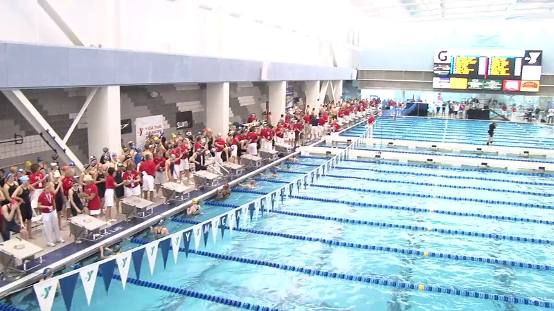 Women's 50 Freestyle Heat 11 - 2012 Short Course YMCA National Championships