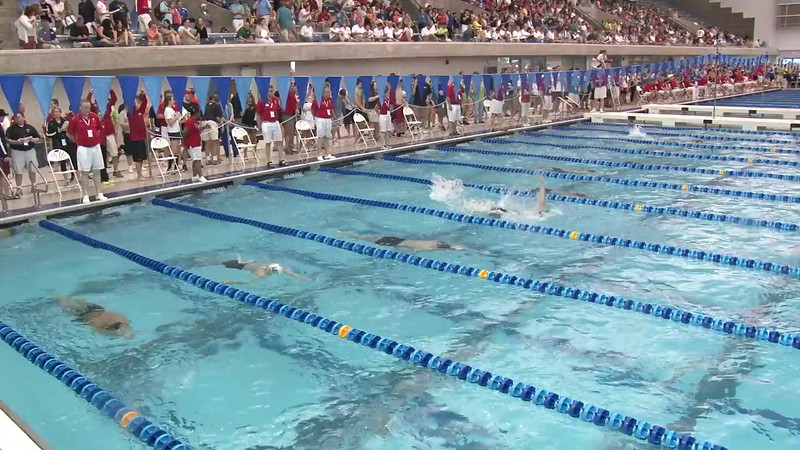 Men's 200 Backstroke Heat 03 - 2012 Short Course YMCA National Championships