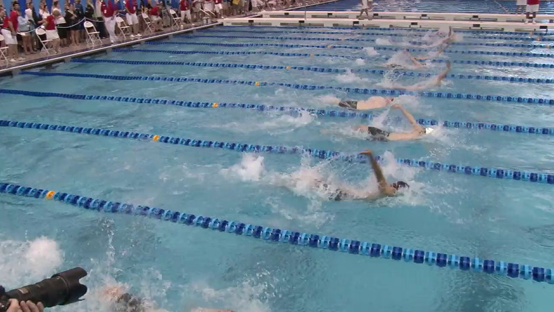 Men's 100 Backstroke Heat 05 - 2012 Short Course YMCA National Championships