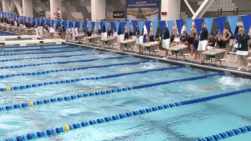 Men's 100 Breaststroke Heat 01 - 2012 Short Course YMCA National Championships