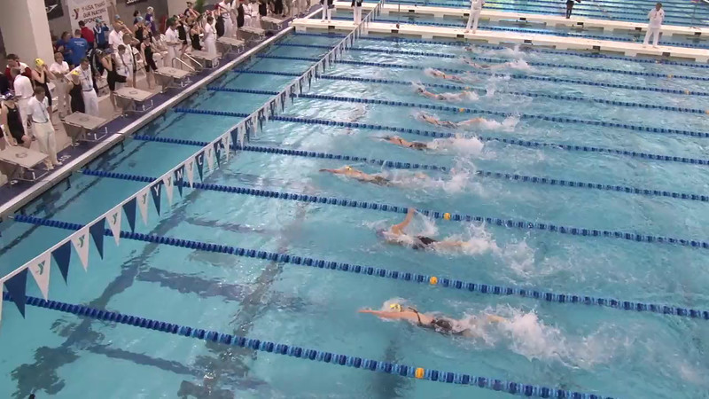 Women's 400 Freestyle Relay Final B - 2012 Short Course YMCA National Championships