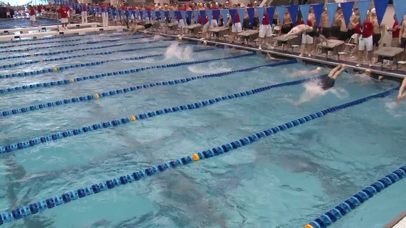 Men's 200 Medley Relay Heat 06 - 2012 Short Course YMCA National Championships