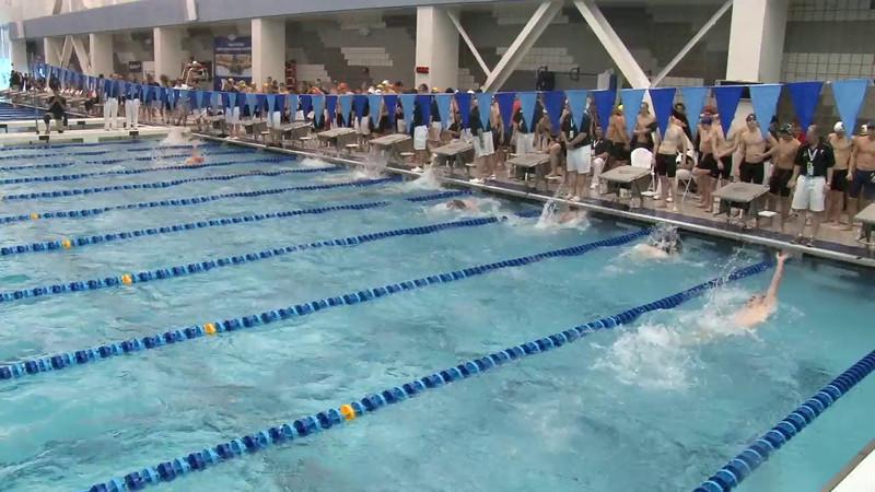 Men's 400 Medley Relay Heat 06 - 2012 Short Course YMCA National Championships