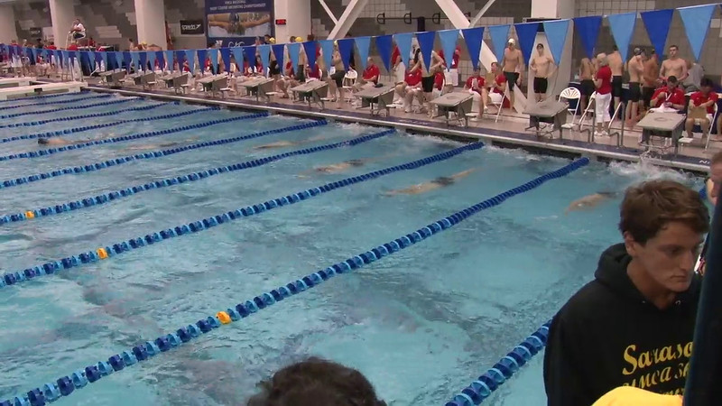 Men's 500 Freestyle Heat 07 - 2012 Short Course YMCA National Championships
