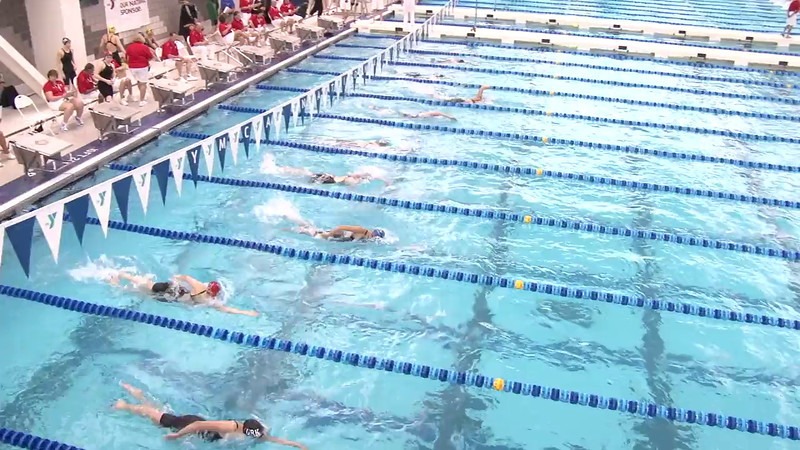 Women's 500 Freestyle Heat 09 - 2012 Short Course YMCA National Championships