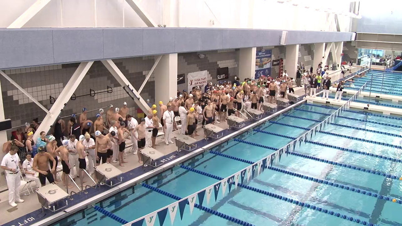 Men's 200 Freestyle Relay Final A - 2012 Short Course YMCA National Championships