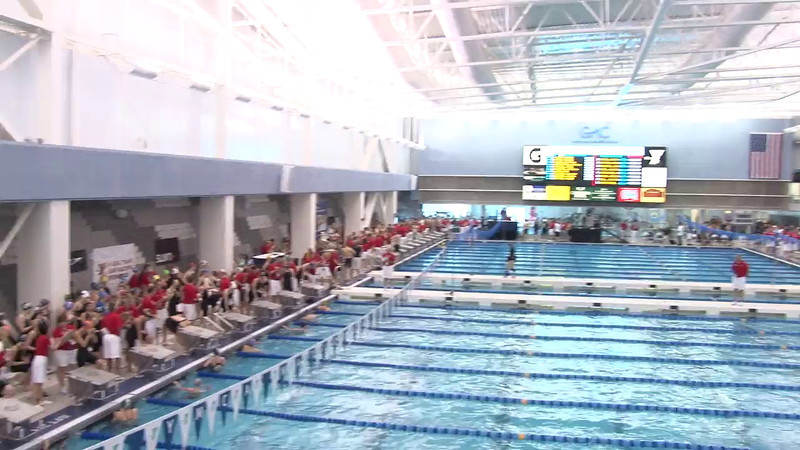 Women's 50 Freestyle Heat 12 - 2012 Short Course YMCA National Championships