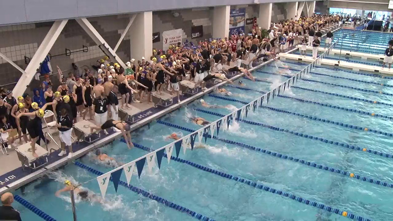 Women's 200 Freestyle Relay Heat 01 - 2012 Short Course YMCA National Championships