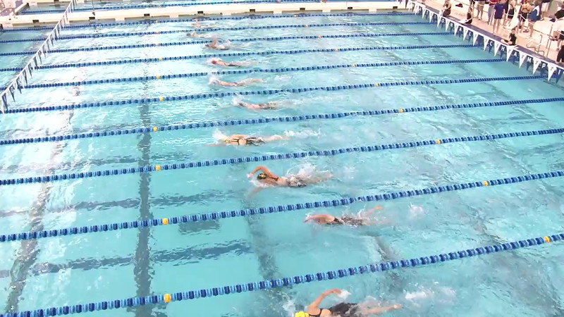 Women's 1650 Freestyle Heat 02 - 2012 Short Course YMCA National Championships