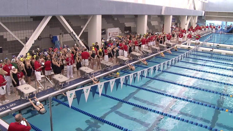 Women's 200 Medley Relay Heat 05- 2012 Short Course YMCA National Championships