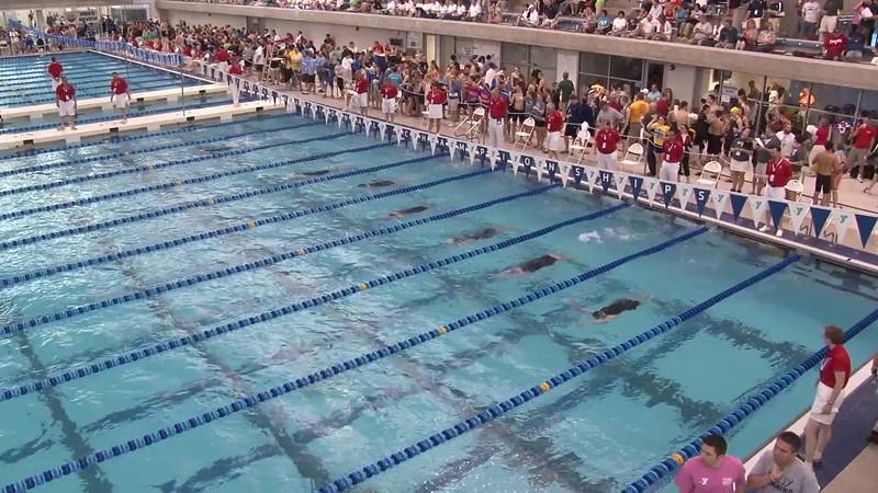 Women's 200 Backstroke Heat 01 - 2012 Short Course YMCA National Championships