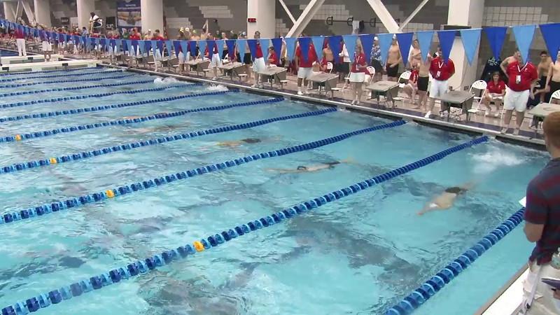 Men's 200 Backstroke Heat 04 - 2012 Short Course YMCA National Championships