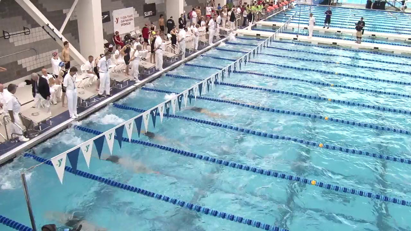 Men's 100 Backstroke Final B - 2012 Short Course YMCA National Championships