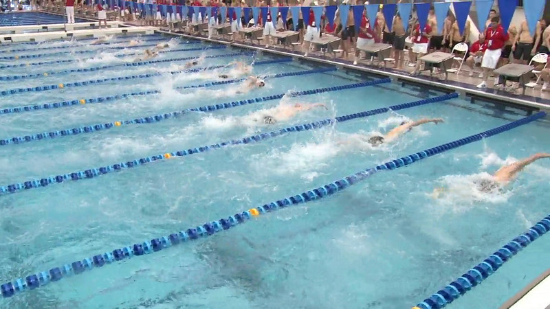 Men's 100 Freestyle Heat 09- 2012 Short Course YMCA National Championships