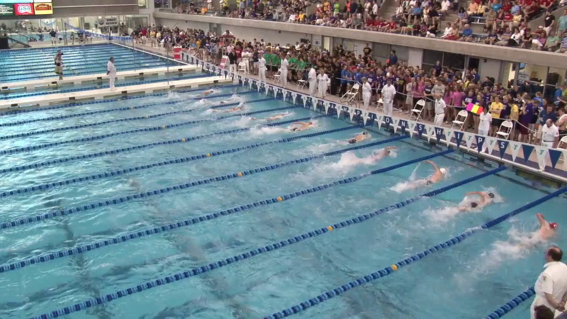 Men's 200 Freestyle Final B - 2012 Short Course YMCA National Championships