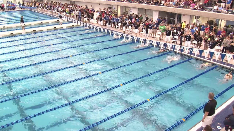 Women's 100 Butterfly Heat 01 - 2012 Short Course YMCA National Championships