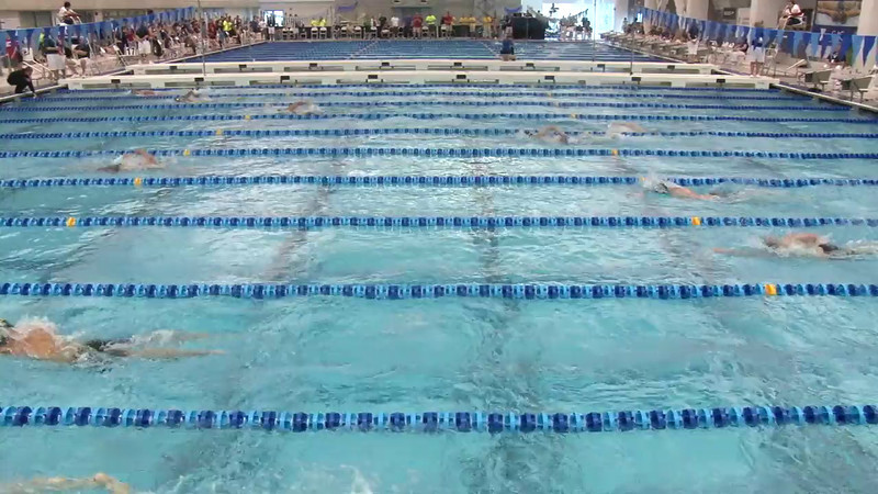 Men's 1650 Freestyle Heat 02 - 2012 Short Course YMCA National Championships