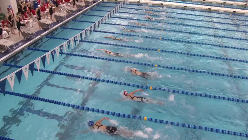 Women's 800 Freestyle Relay Heat 04 - 2012 Short Course YMCA National Championships