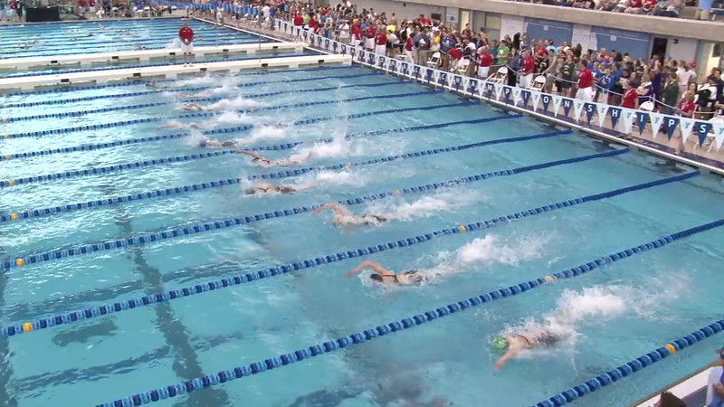 Women's 50 Freestyle Heat 20 - 2012 Short Course YMCA National Championships