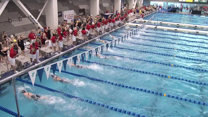 Women's 50 Freestyle Heat 16 - 2012 Short Course YMCA National Championships
