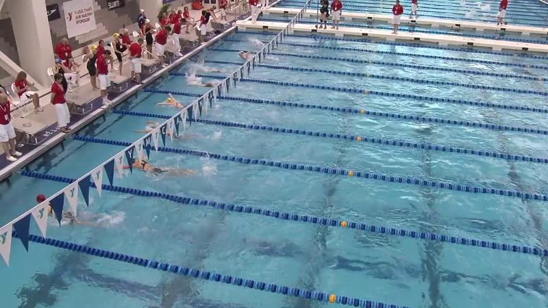 Women's 400 Medley Heat 10 - 2012 Short Course YMCA National Championships