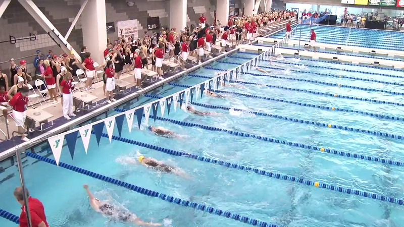 Women's 100 Backstroke Heat 07 - 2012 Short Course YMCA National Championships