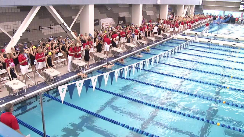 Women's 50 Freestyle Heat 01 - 2012 Short Course YMCA National Championships