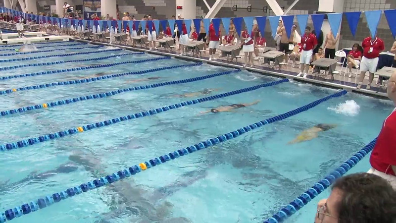 Men's 200 Backstroke Heat 09 - 2012 Short Course YMCA National Championships