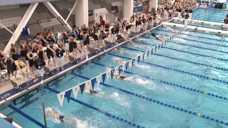 Women's 200 Freestyle Relay Heat 07 - 2012 Short Course YMCA National Championships