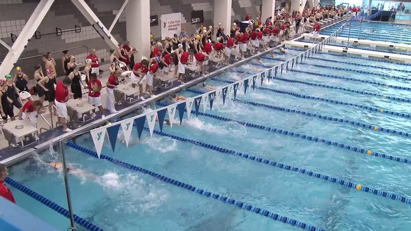 Women's 50 Freestyle Heat 17 - 2012 Short Course YMCA National Championships