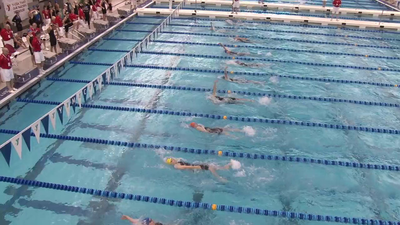 Women's 200 Backstroke Heat 04 - 2012 Short Course YMCA National Championships