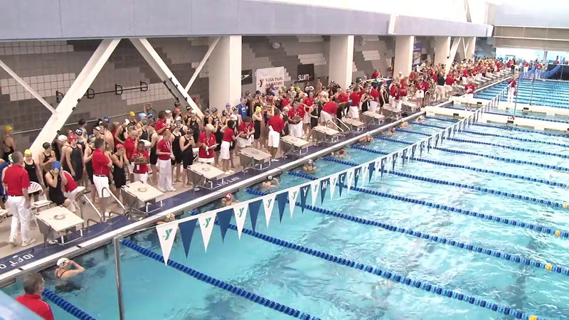 Women's 50 Freestyle Heat 08 - 2012 Short Course YMCA National Championships