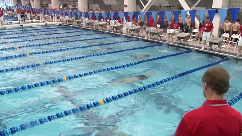 Men's 400 Medley Heat 09 - 2012 Short Course YMCA National Championships