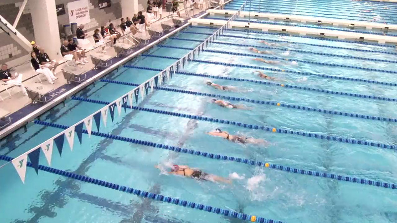Women's 1000 Freestyle Heat 04 - 2012 Short Course YMCA National Championships