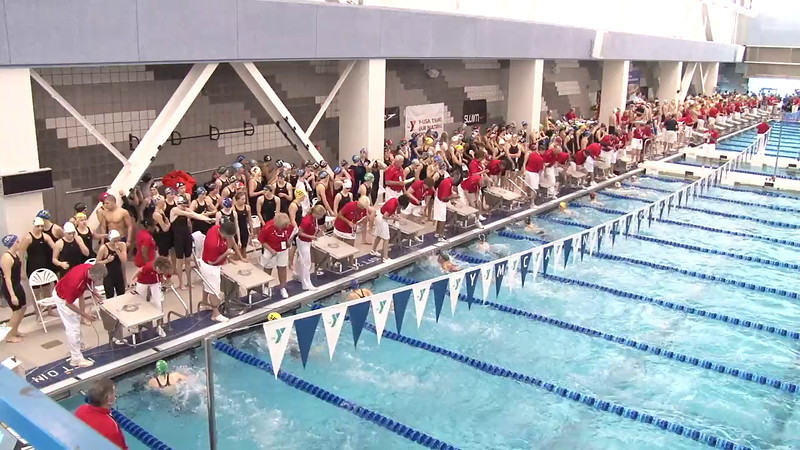 Women's 50 Freestyle Heat 04 - 2012 Short Course YMCA National Championships
