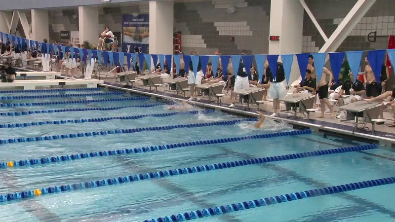 Men's 200 Breaststroke Heat 01 - 2012 Short Course YMCA National Championships