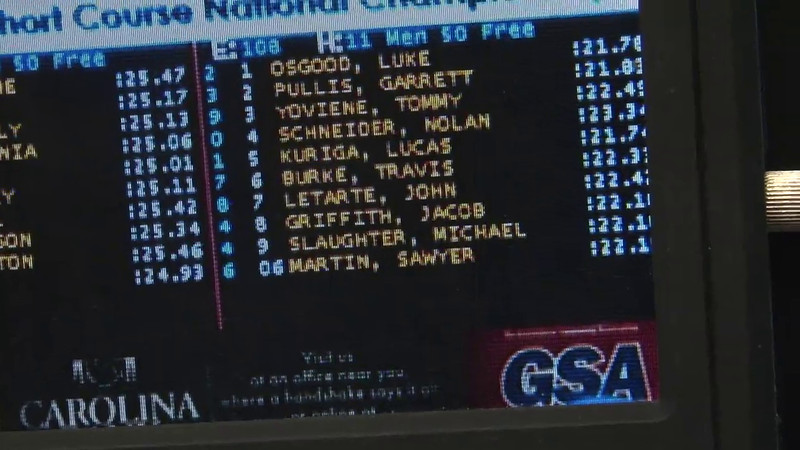 Men's 50 Freestyle Heat 11 - 2012 Short Course YMCA National Championships