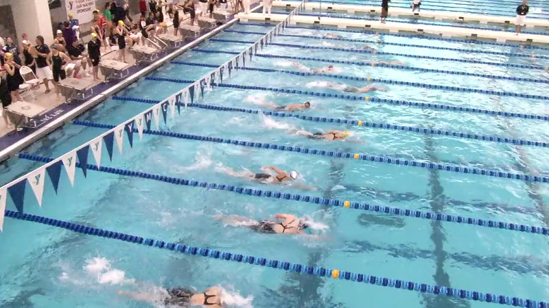 Women's 200 Freestyle Heat 04 - 2012 Short Course YMCA National Championships