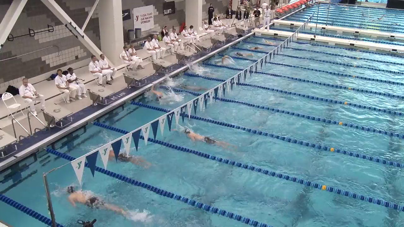 Men's 1000 Freestyle Final A - 2012 Short Course YMCA National Championships